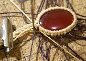 マクラメ編みダブル巻きレシピ